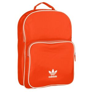 Details zu Adidas Backpack Classic Rucksack Sport Freizeit Schule Tasche orange DV0184