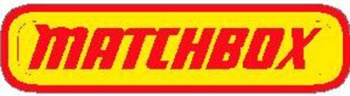 MATCHBOX  VINYL STICKER A4497