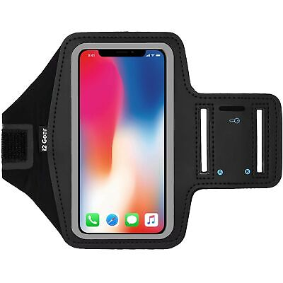 brazalete para correr compatible con i Brazalete deportivo universal para móvil