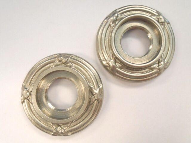 Baldwin Pair of Estate Roses Satin Nickel 5016-150 182HW