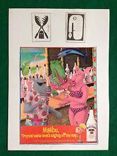 (AB49) Pubblicità Advertising Ads Werbung MALIBU' CARIBBEAN RUM