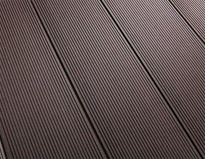 WPC TERRASSO Terrassendielen Terrassenbelag coffee brown Balkon Pool Smart braun