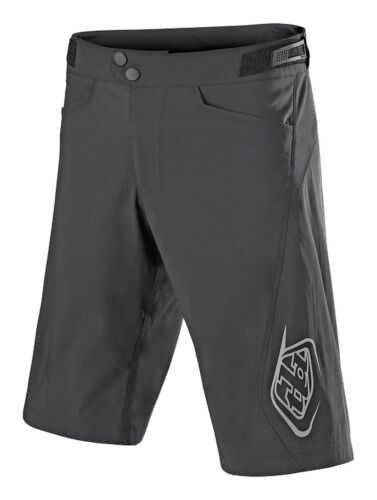Troy Lee Designs Flowline Mens Bicycle Shorts Charcoal