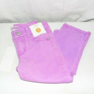 Gymboree-Purple-Denim-Capri-Jeans-Pants-5-Slim-NWT