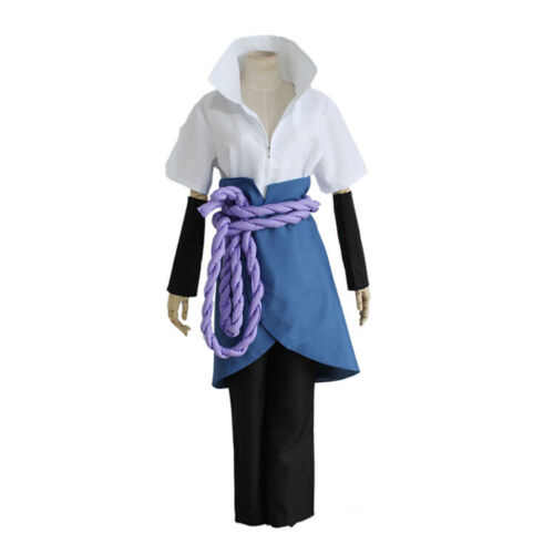Anime Naruto 3rd Uchiha Sasuke Cosplay Complete Outlet Costume Halloween