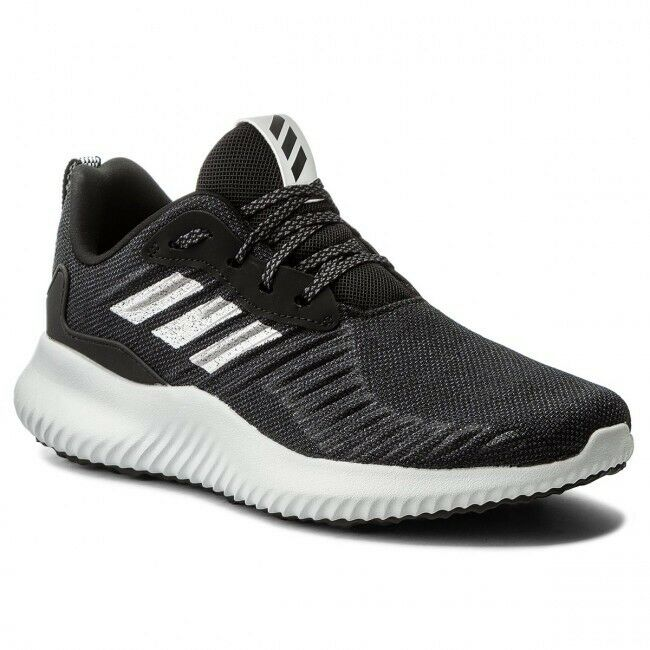 NWT Adidas Alphabounce Rc Sneakers Black Silver, Size 8