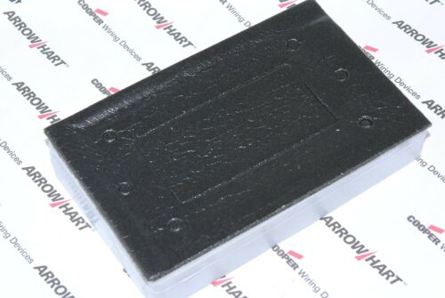 1pcs-COOPER S3966 Horizontal 1Gang Decorator Non-metallic Weatherproof Cover