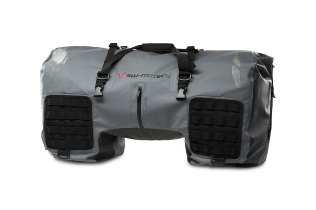 wasserdicht SW-Motech Drybag 700 Motorrad Hecktasche 70L Grau Schwarz