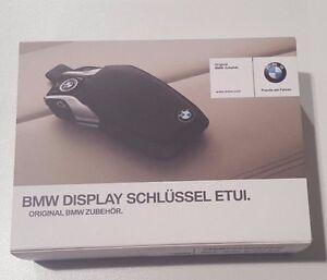 Genuine BMW OE Emblem Logo Display Key Holder Fob Cover Case 82292365436
