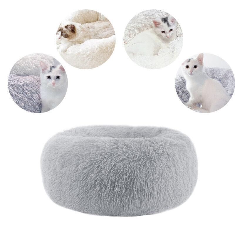 Haustier Plüsch Hundebett Katzenbett Flauschige Hundekissen HundekorbTierbett 10