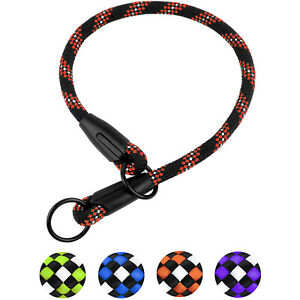 Rope-Choke-Dog-Collar-Reflective-Training-Slip-Collars-For-Dogs