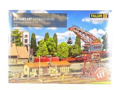 "Faller H0 190065 Aktions-Set /""Güterverladung/"" Neu"
