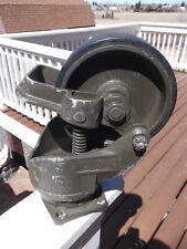 Aerol Heavy Industrial Swivel Cart Wheel Lot Foot Brake Od Green 8 Available