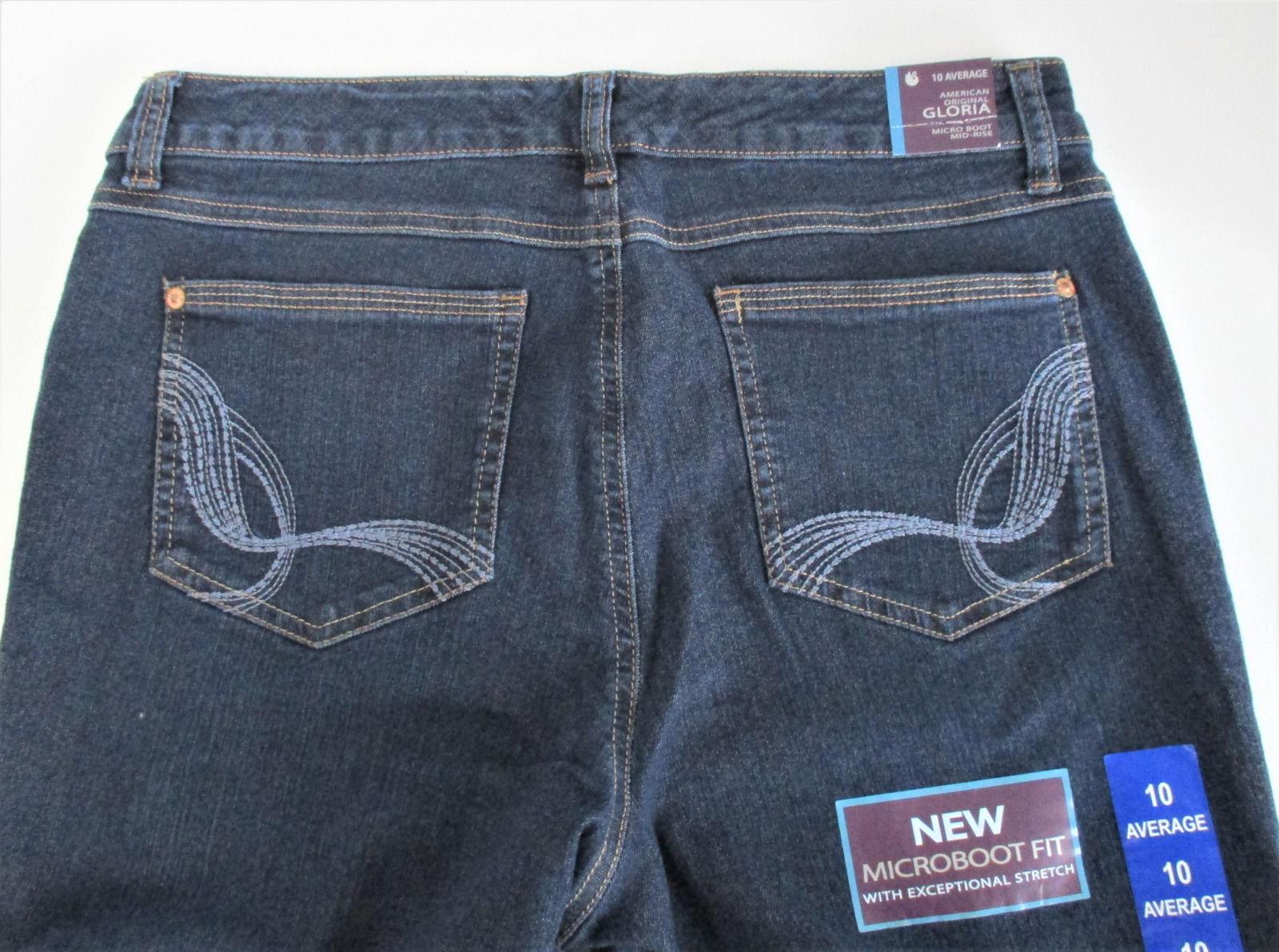 eae074cdb9e70 Women s Gloria Vanderbilt Gloria Microboot Cut Jeans Size 16 AVG