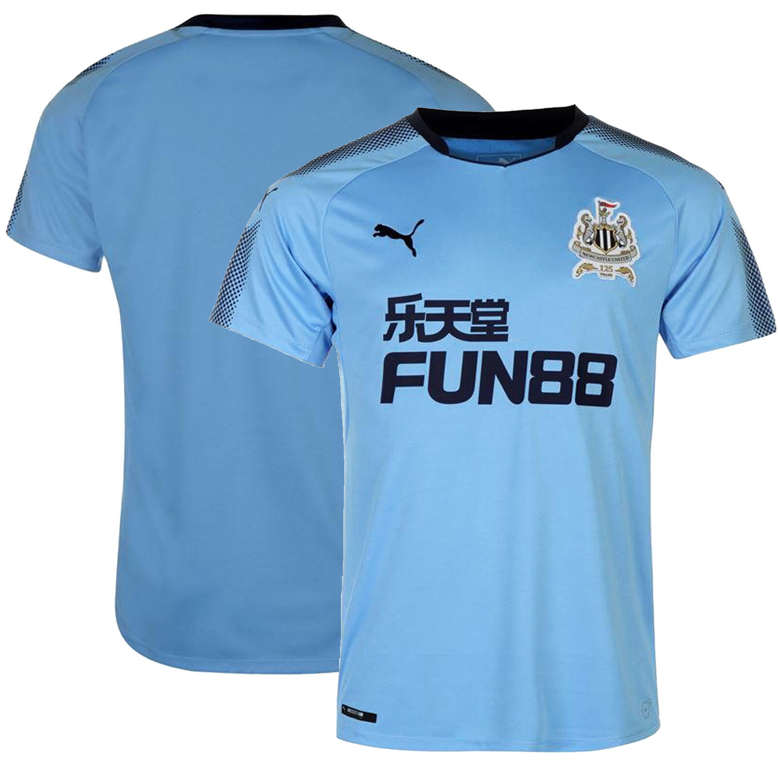 e5e093a1e Details about PUMA Newcastle United Away Football Replica Shirt New