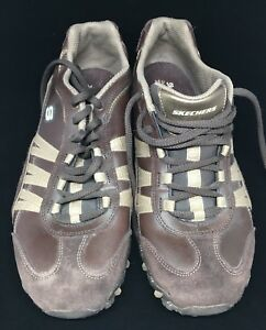 Women's Casual/Walking Brown SKETCHERS Outdoor Lifestyle Sz 10 Lace up SN 46884