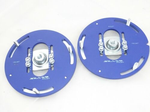 Camber Plates for Mini F55 F56 F57 for coliover blue