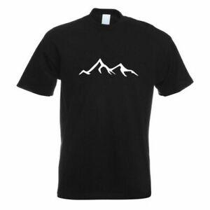 Escursionisti-Alpinista-T-Shirt-Motivo-Stampato-Funshirt-Progettazione-Stampa
