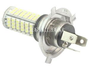 KFZ-H4-SMD-120-LEDs-Birne-Licht-Auto-Lampe-Weiss-12-Volt