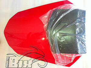 ONGLE-MONO-PLACE-SELLE-HOUSSE-DE-SIEGE-YAMAHA-R6-08-14-ABS-ROUGE