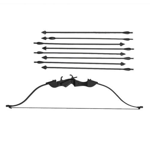 "1//6 Scale Black Reflex Arrow Bow Set fit 12/"" Action Figure Body HT ZY Toys"