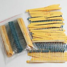 Electrolytic Resistor Capacitor Assortment Electronic Kits Metal Film 600pcslot