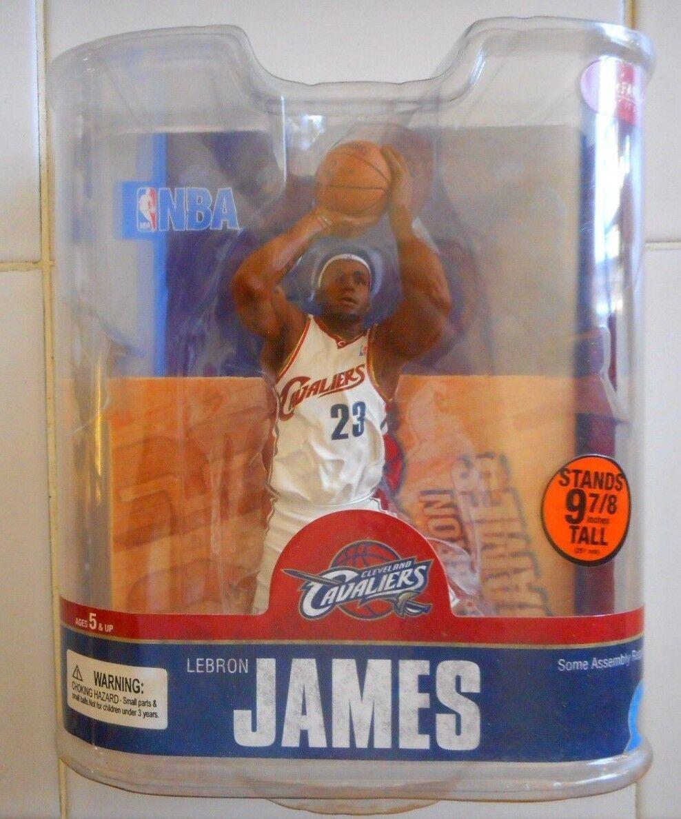 MOC LEBRON JAMES WHITE JERSEY VARIANT MCFARLANE NBA SERIES 13 SEALED NIP CAVS