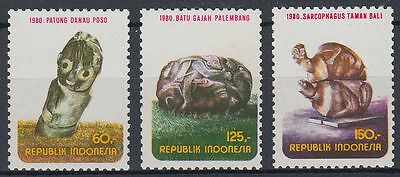 Indonesien Indonesia 1980 ** Mi.961/63 Kunst Kultur Art Culture Briefmarken Asien st3464