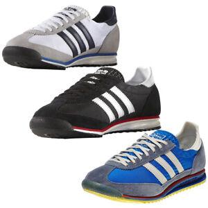 Mens-Adidas-Originals-SL-72-Trainers-Retro-Sports-Running-Shoes-Size