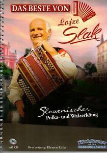 Steirische-Harmonika-Noten-Das-Beste-von-Lojze-Slak-mit-CD
