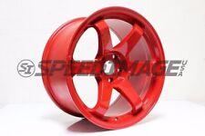 Rota Grid Wheels Red 18x95 38 5x100 Subaru Wrx 02 14 Sti 04 Tc 04 10