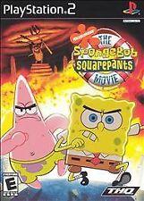 Spongebob Squarepants The Movie PlayStation2, Playstation 2 Video Games-Good Con