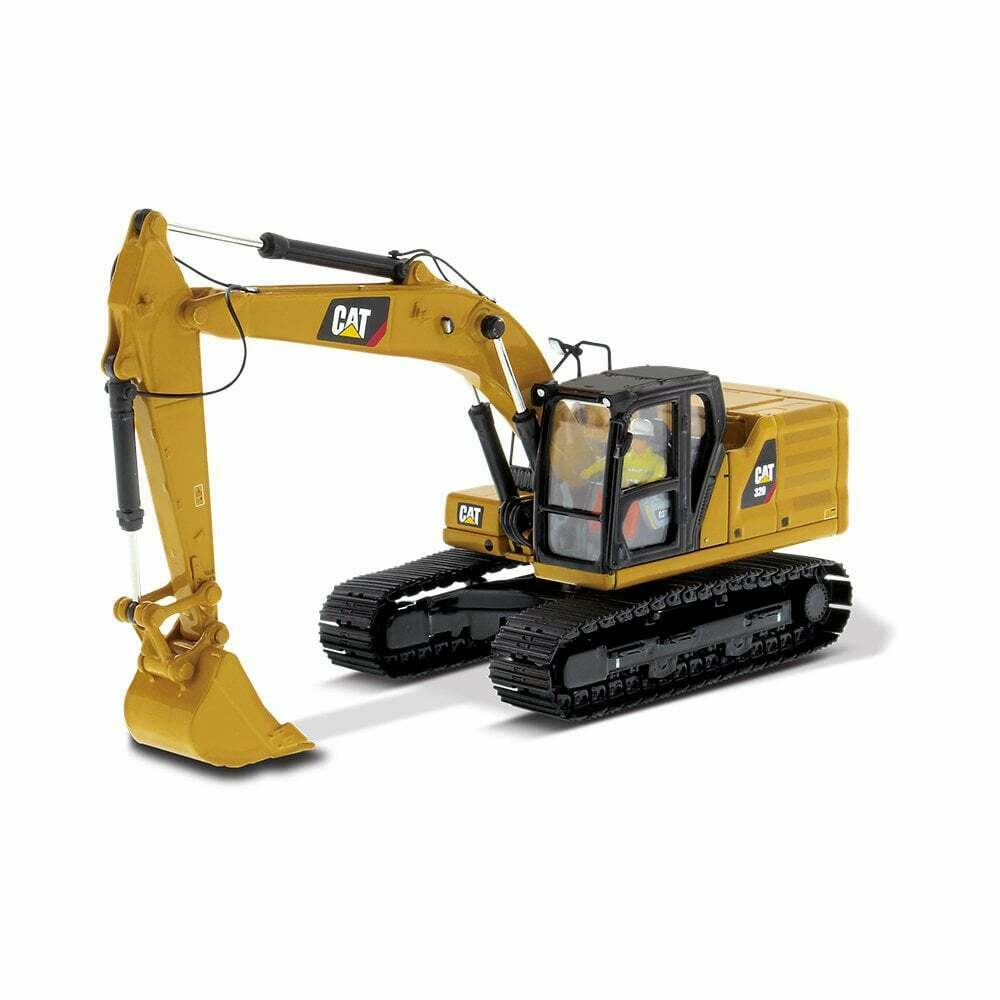 Cat 320 Hydraulic Excavator 85569  Diecast Models White Box   1 50