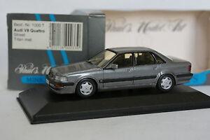 Minichamps-1-43-Audi-V8-Quattro-Grise