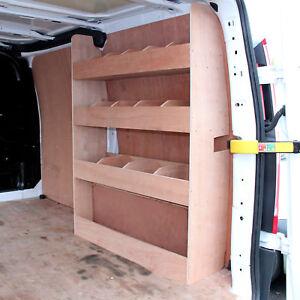 Scaffali Per Furgoni.Dettagli Su Scaffale In Legno Compensato Per Furgone Ford Transit Solido Con 3 Ripiani