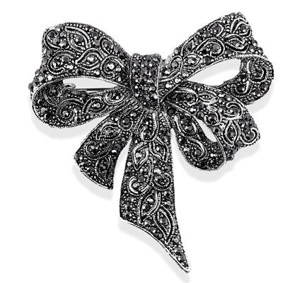 Enamel Black Witch Brooch Pin Corsage Women Gothic Shirt Collar Jewelry Gif VG