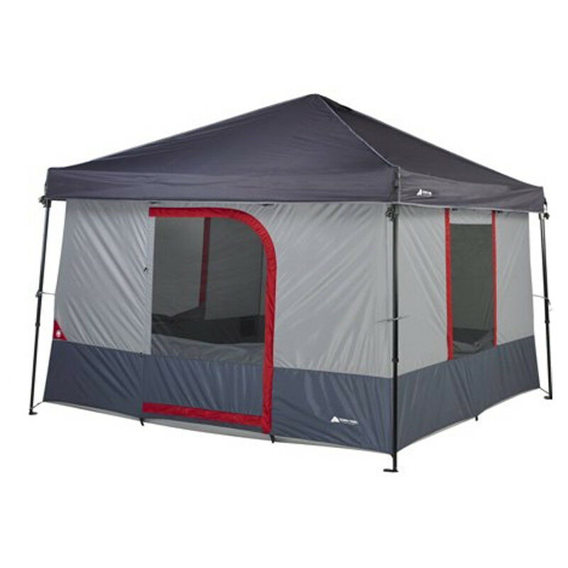 Ozark Trail 6Person ConnecTent for Canopy 10 x 10 Outdoor Family Camping Tent
