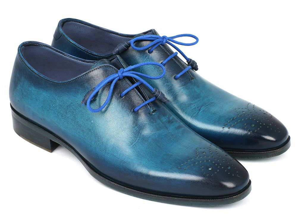 Paul Parkman Parkman Parkman Men's blu & Navy Medaglione Toe Oxfords (ID VN82BL)   Produzione qualificata    Uomo/Donna Scarpa  254363