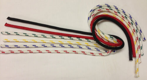 6mm Braid on braid polyester sheets halyards spinnacker etc