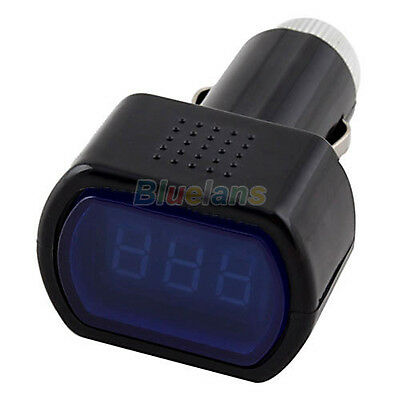 Digital Monitor Car Volt Voltmeter LCD Cigarette Lighter Voltage Panel Meter #B1