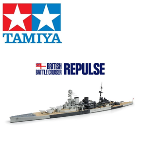 Tamiya 31617 British Battle Cruiser Repulse Water Line 1 700 Scale Kit