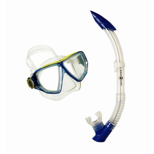 Aqua Lung Schnorchel-Set für Erwachsene Oyster LX Brille /& Schnorchel blau