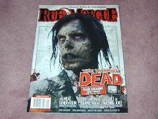 RUE MORGUE magazine # 104, The Walking Dead, 2000 Fantasia Film Festival, Elvira