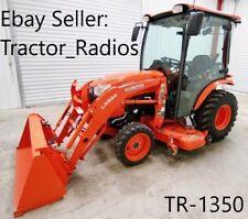 B2650 Kubota Tractor Radio Harness Cd Tape Player In Dash Stereo 9 Pin Wire Cab