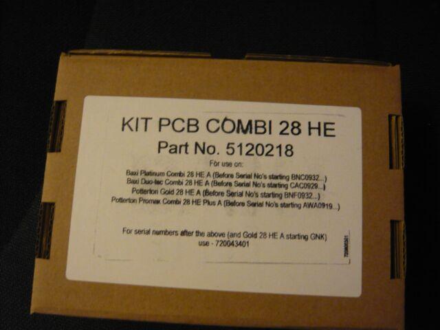 Potterton DUOTEC Promax 28 HE Plus HE 28 HE 30 Plus A 5120218 7690360 PCB