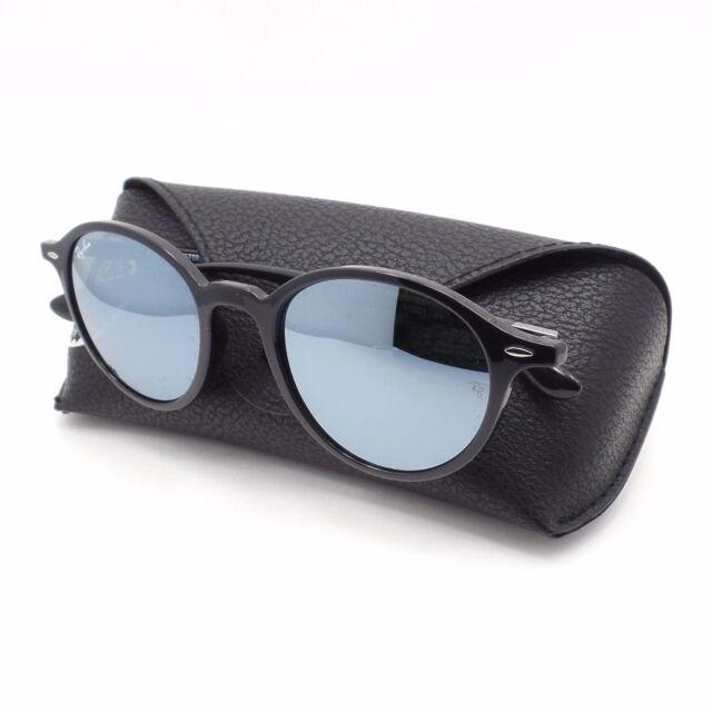 032ea0b6a6eabf AUTHENTIC Ray Ban Tech 4237 601 30 Black Silver Mirror Sunglasses rl New
