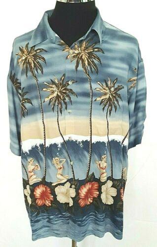 Pierre Cardin XL Mens shirt Retro Girls Bikinis Ha