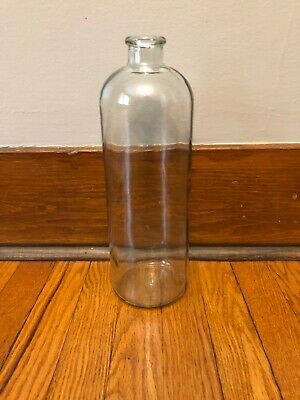 Clear Gl Apothecary Vase Bottle