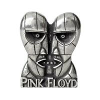 Pink Floyd Division Bell Heads Pewter Pin Band Rock Music Clothing Accessory