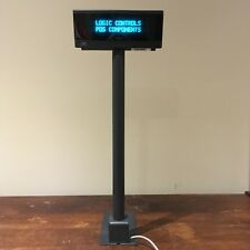 Logic Controls Ld9000 Gy Customer Pole Display Point Of Sale 8pin Mini Din Cnx